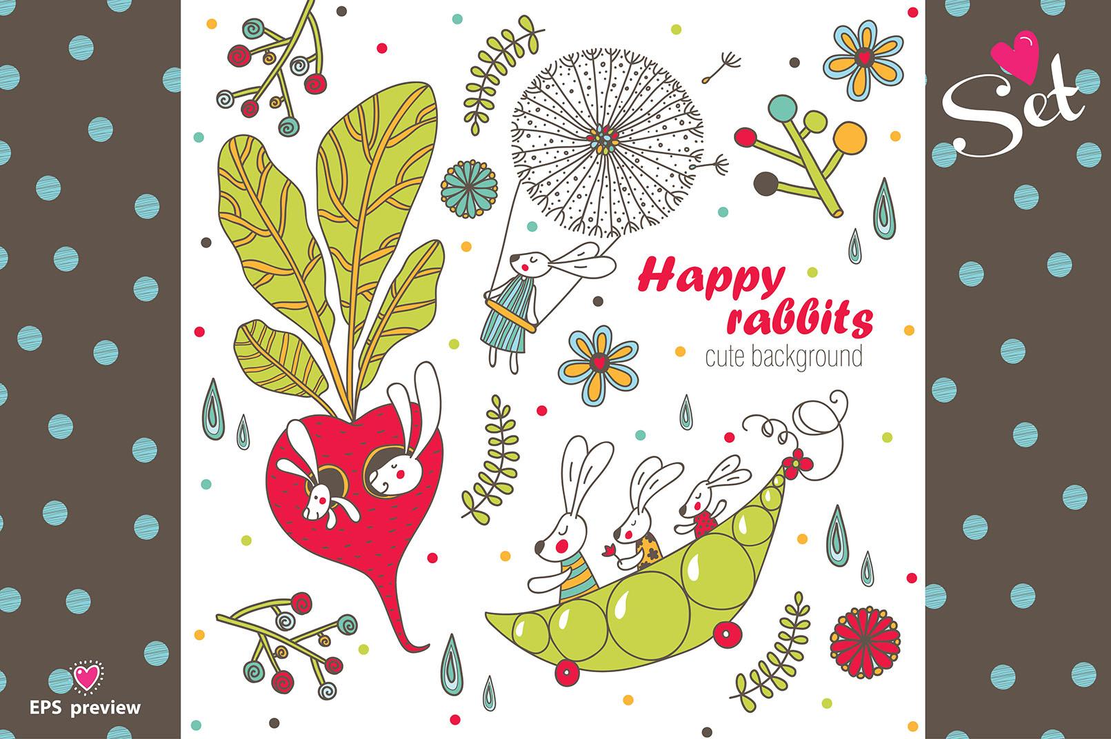 Happy rabbits! example image 8