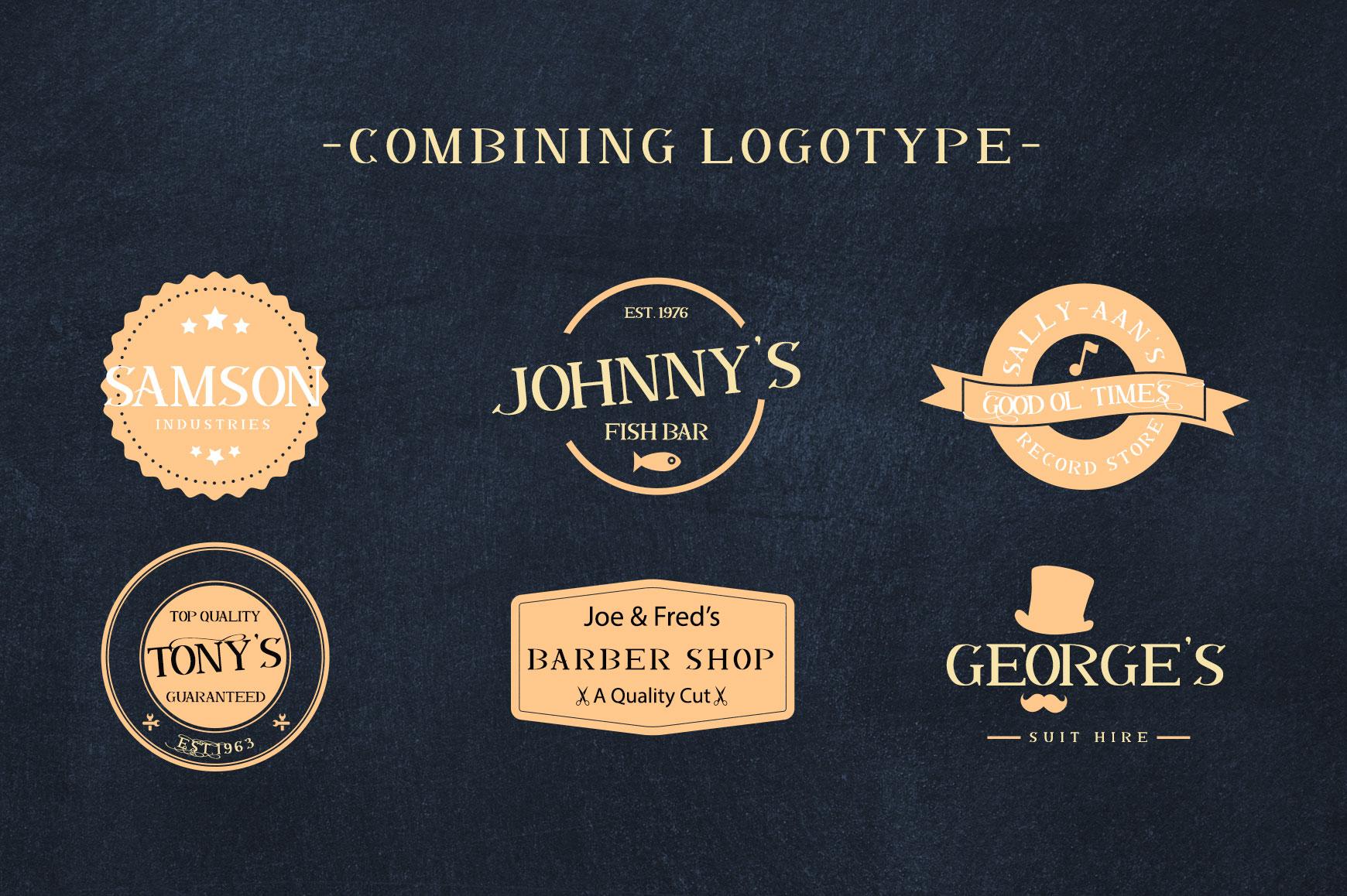 Dalmanti - Capitalized Typeface example image 8