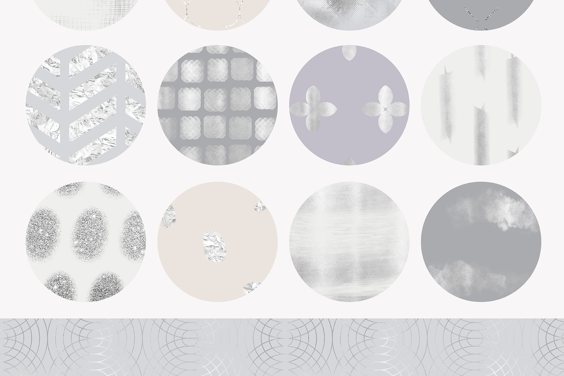 Fancy Silver Pattern Collection example image 6