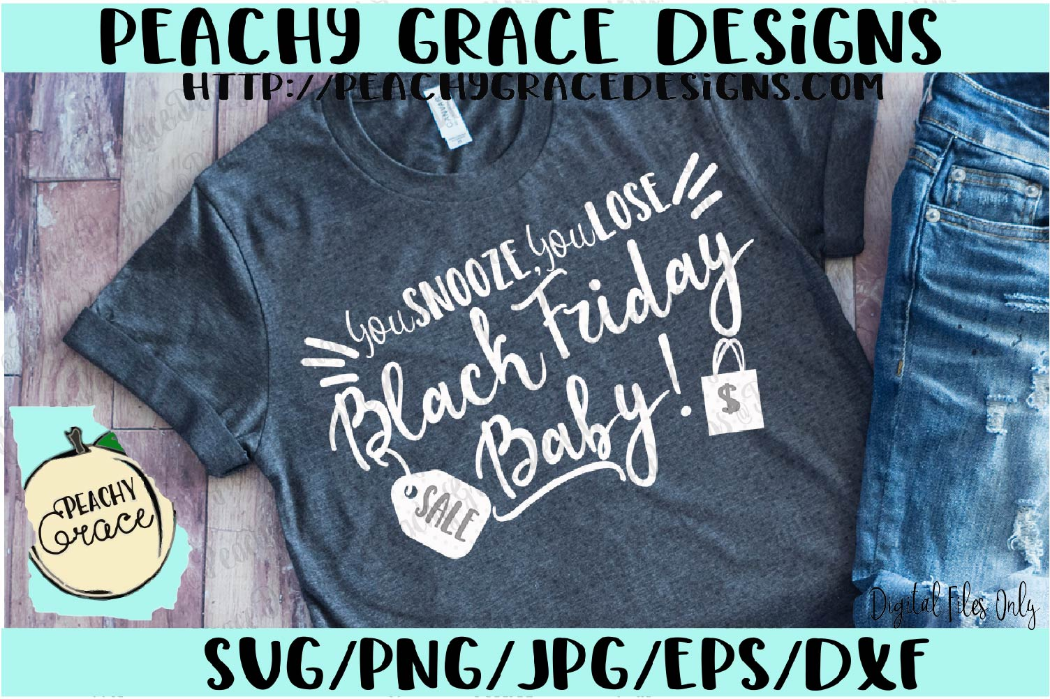 Black Friday Baby svg example image 1
