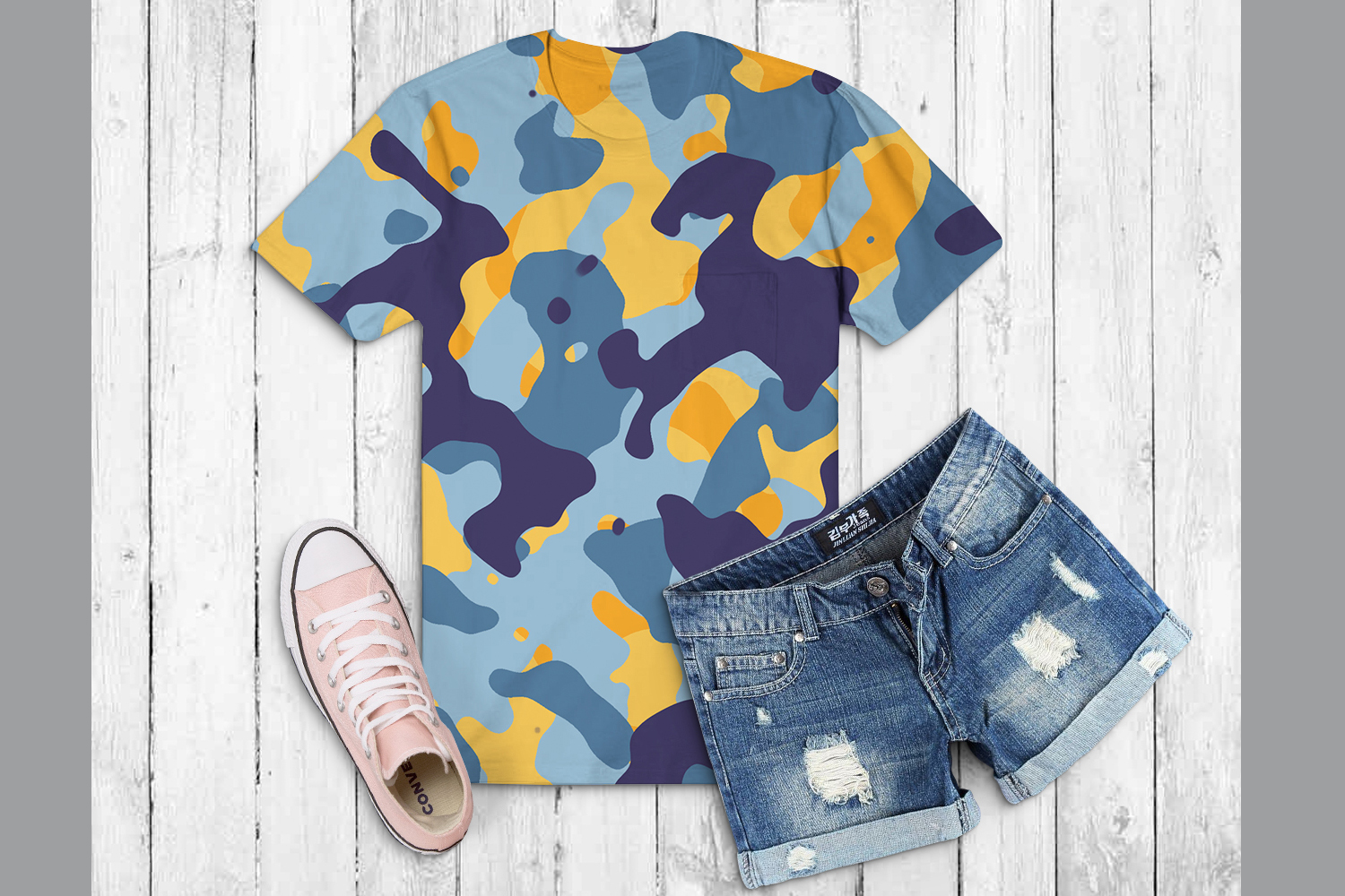 40 Alternative Camouflage Paper Designs example image 13