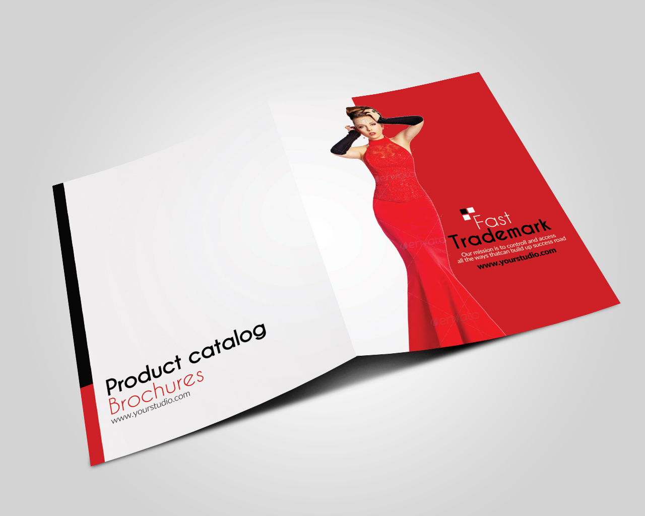 12 Pages Luxury Business Bifold Brochure example image 3