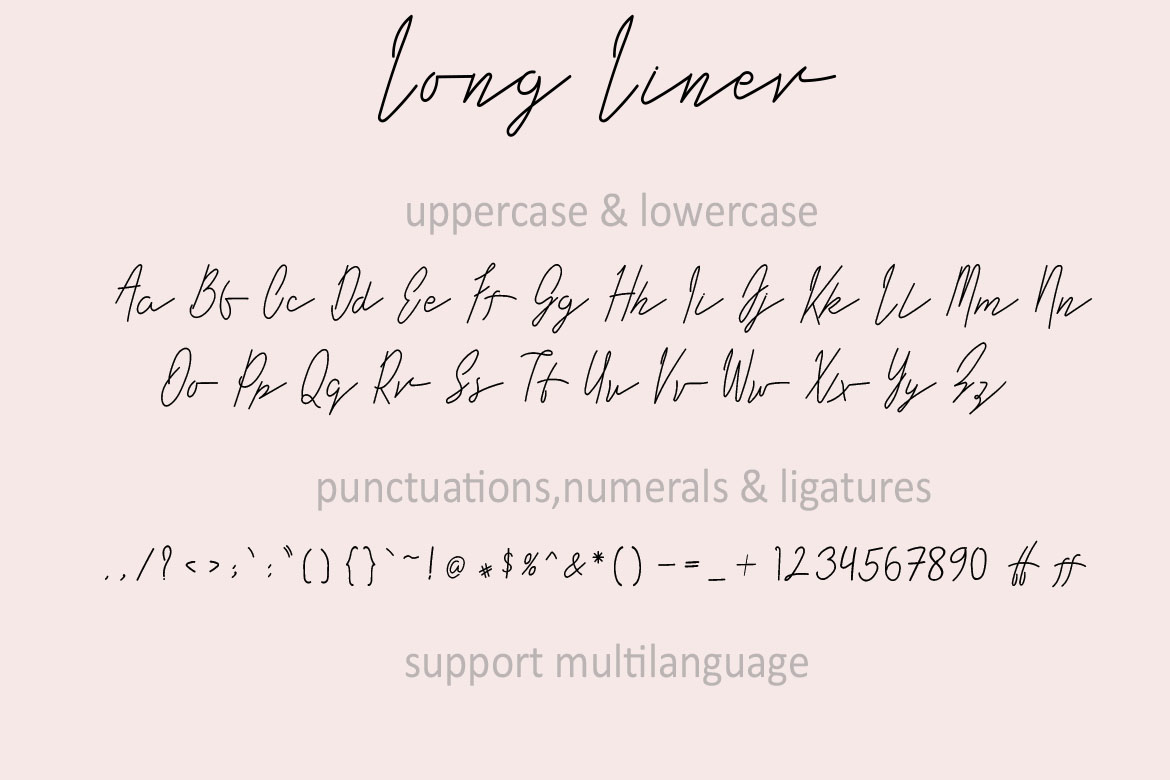 Long Liner | Luxury Signature example image 7
