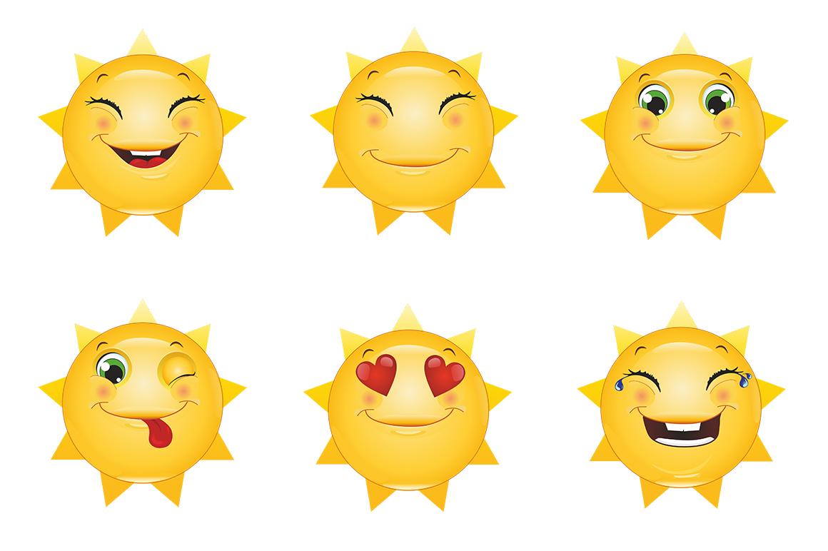 Emoticons Sun example image 9