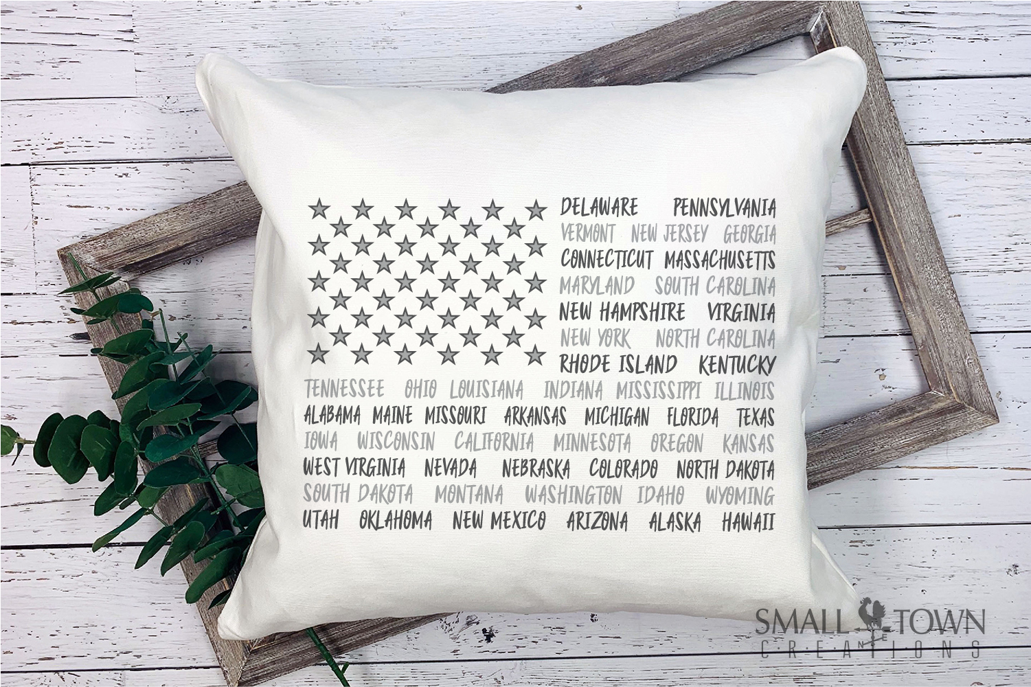 American Flag, USA, Old Glory, States,PRINT, CUT & DESIGN example image 2