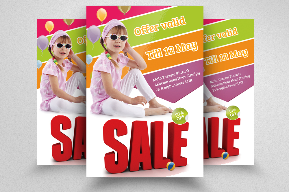 6 Big Sale Offer Flyers Bundle example image 2