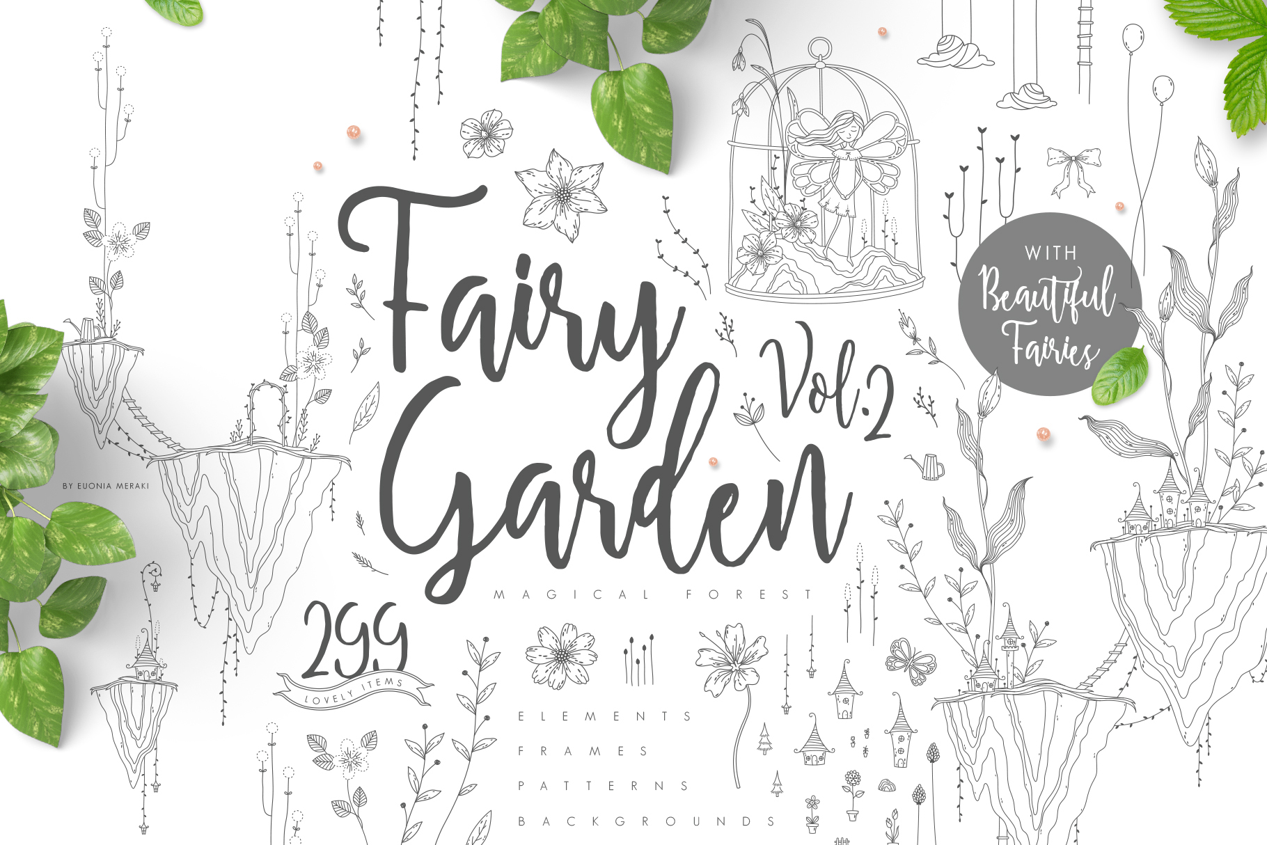 Fairy Garden 2 - Terrarium Kit example image 1