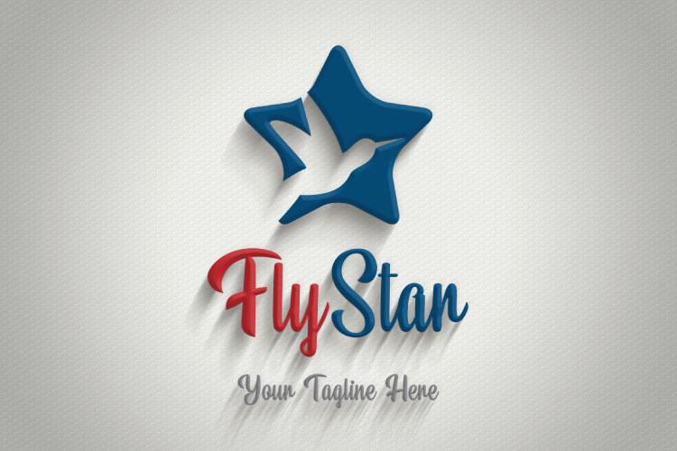 Happy Star, Travel Logo example image 3