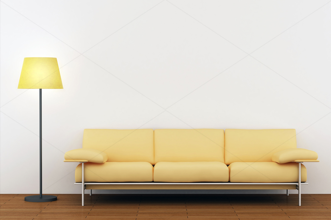 Wall art / decals / poster Mockup v2 example image 4