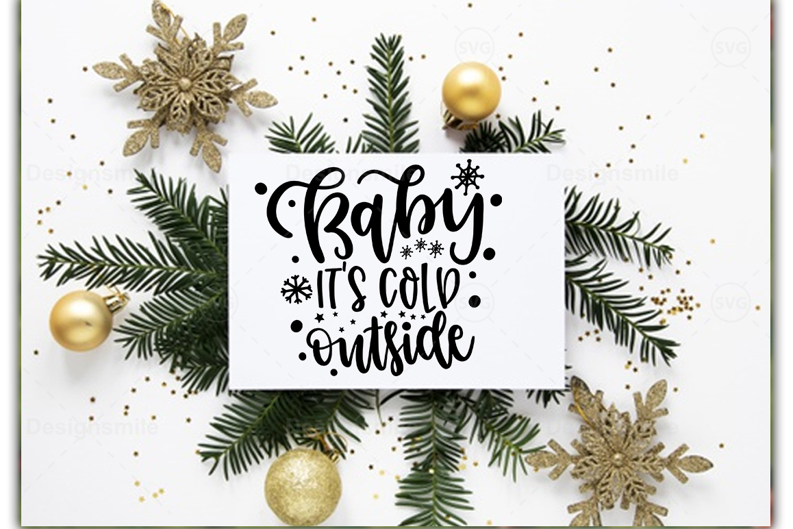 Christmas SVG Bundle |30 Designs example image 4