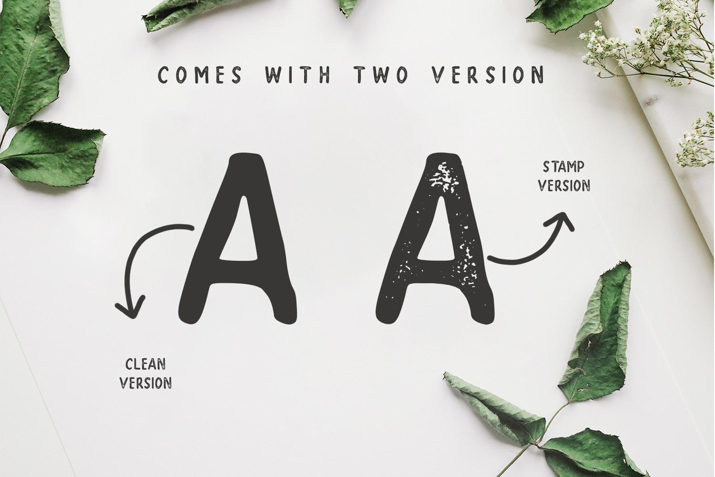 SUPER - A Handwritten Sans Serif example image 3