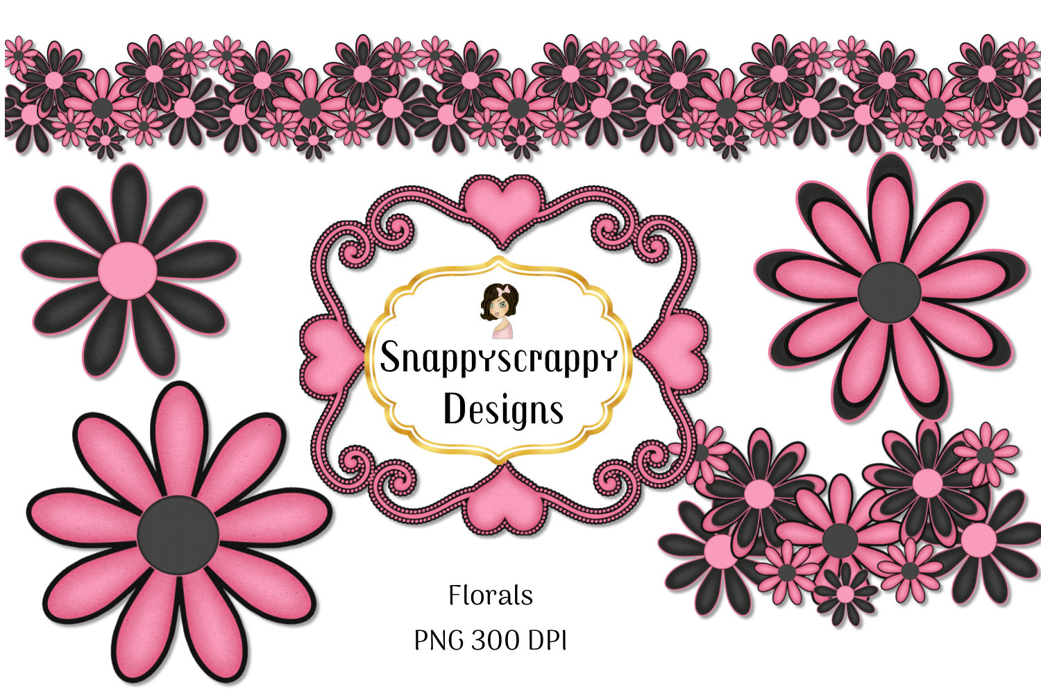 Black and Pink Kit example image 3