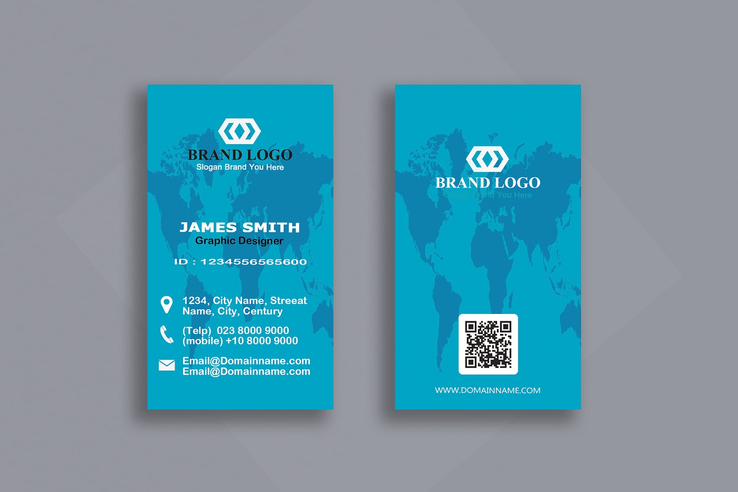 Vertical Business Card example image 4