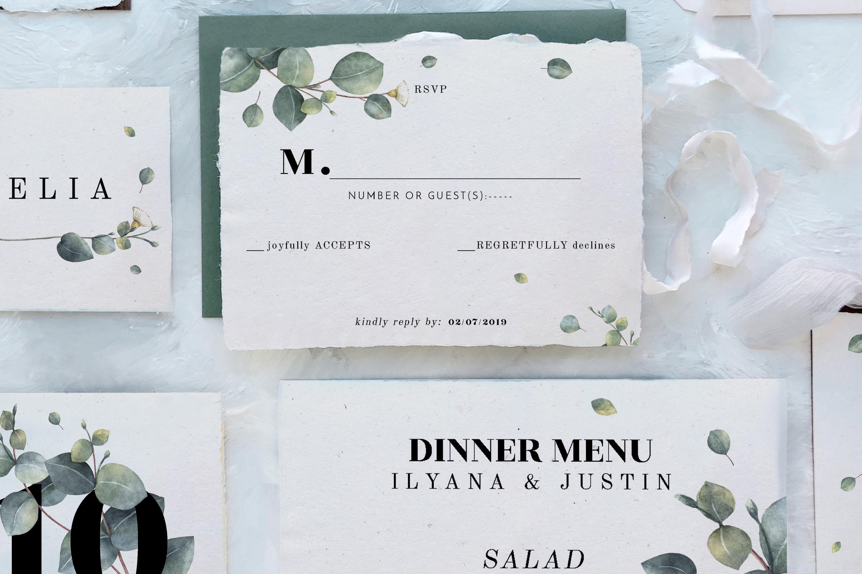 Eucalyptus Foliage Wedding Suite example image 2