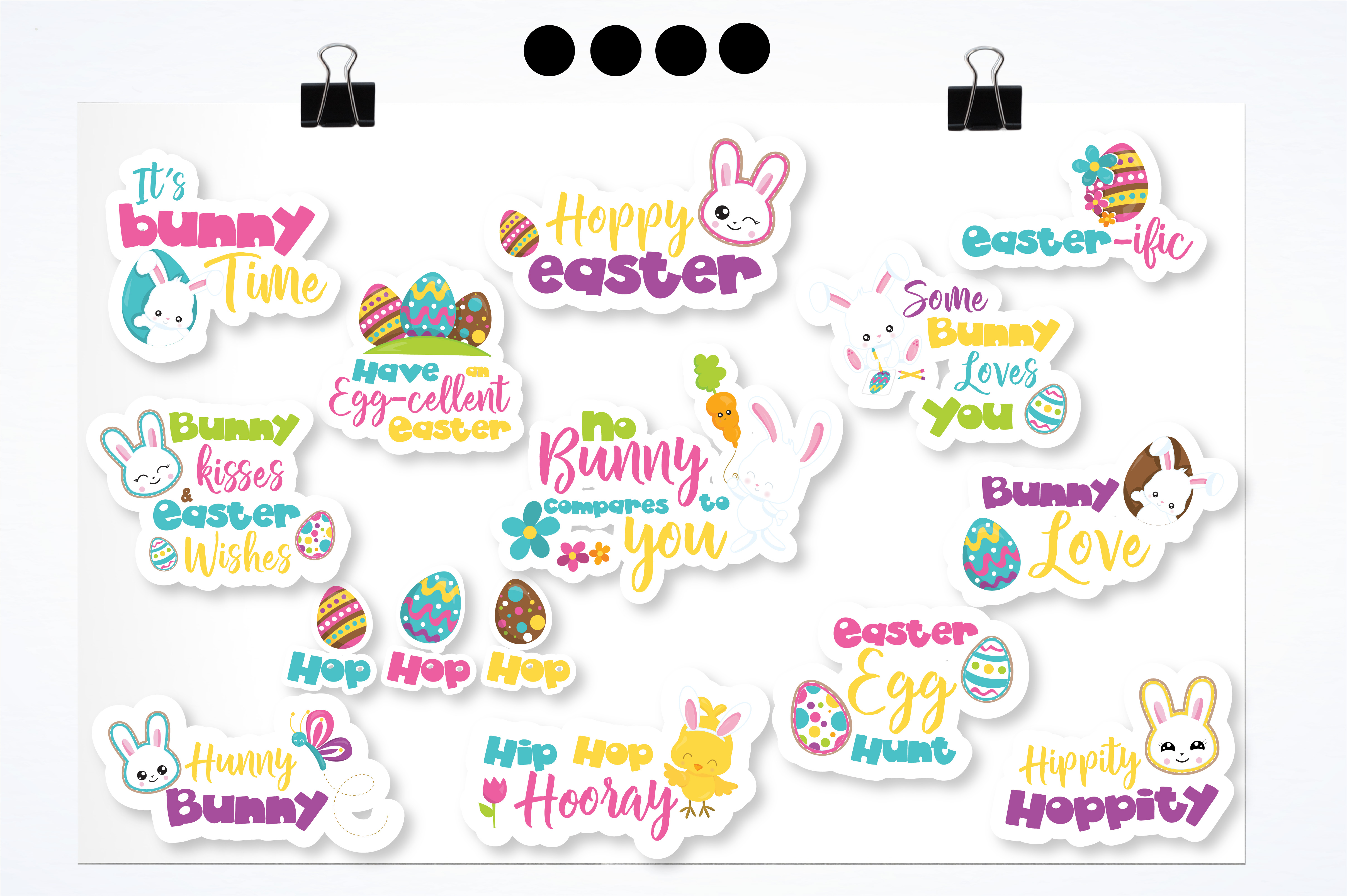 Easter word art graphics and illustrations example image 2