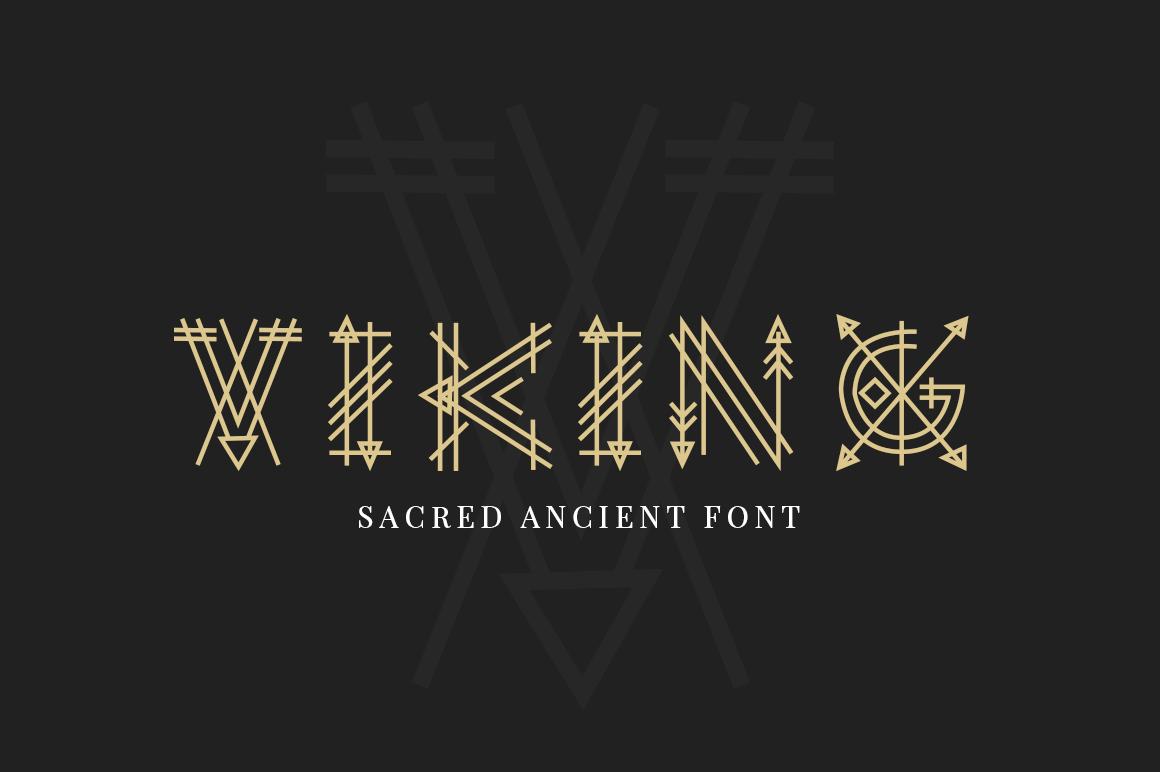 Paraoh - Sacred Font example image 2