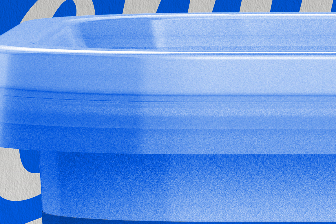 Plastic Container Mockup 200g example image 6