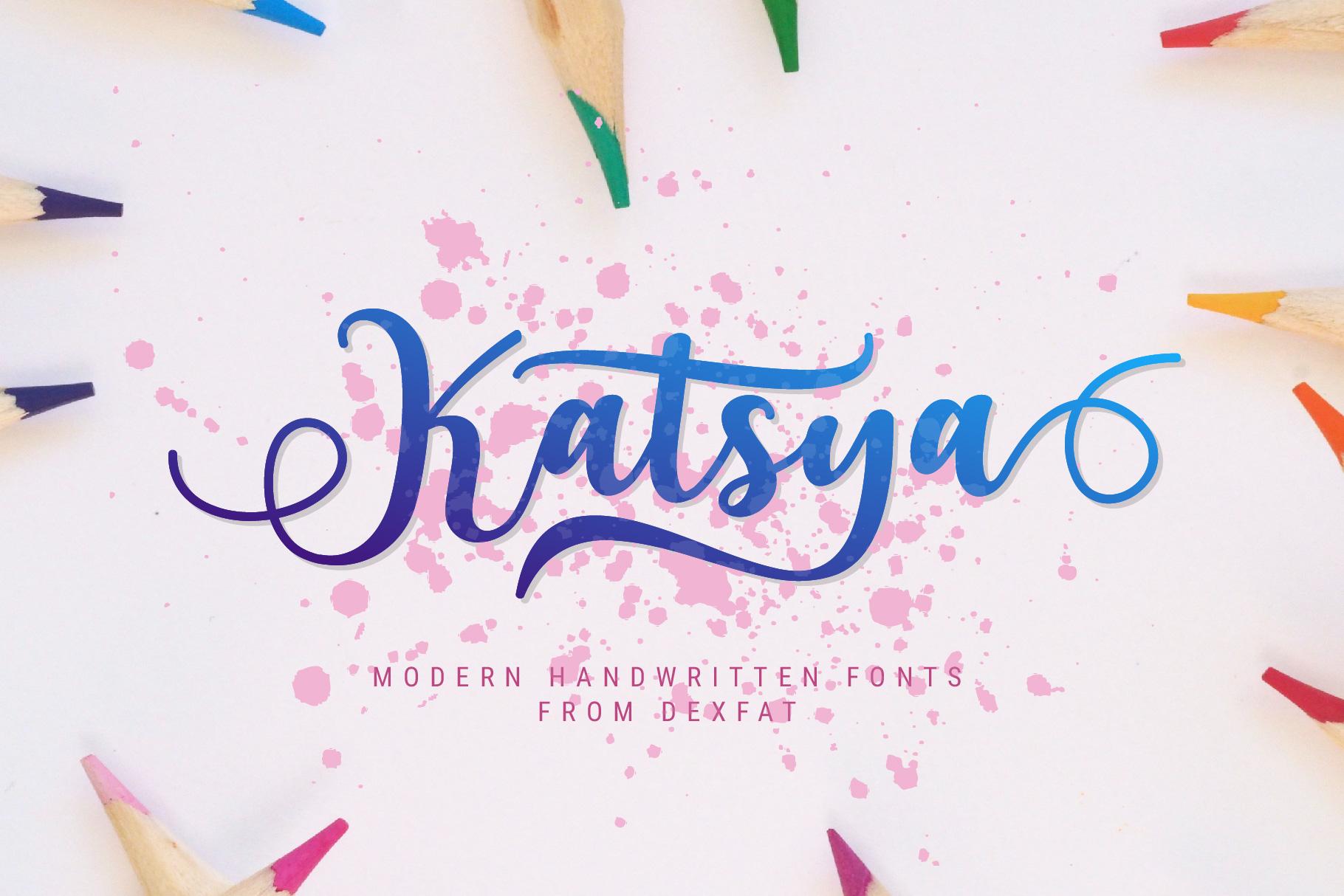 Katsya Script example image 1