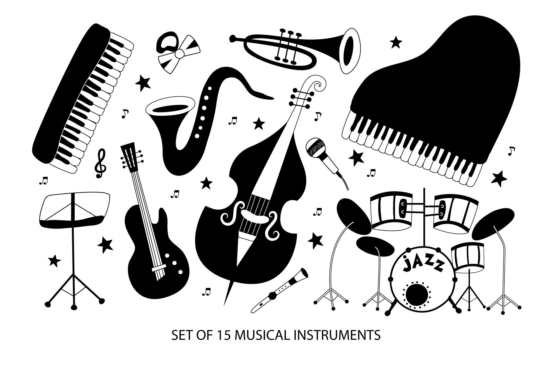 Modern jazz band example image 2