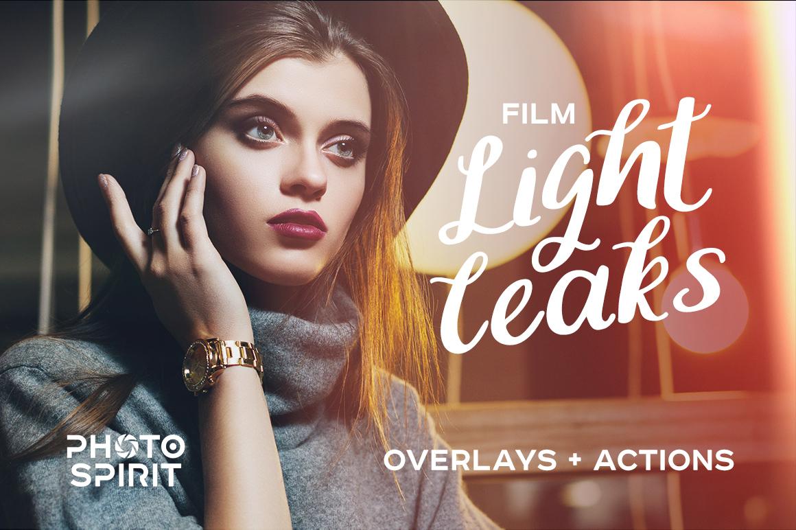 Film Light Leaks Overlays example image 1