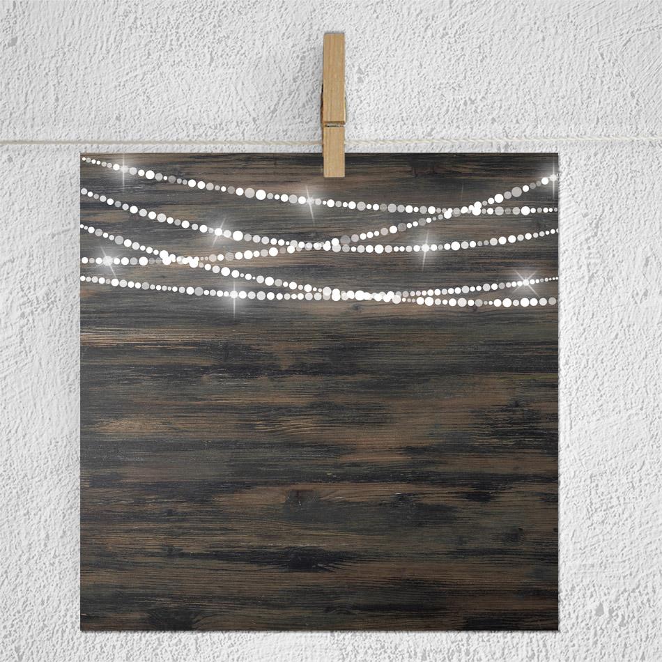 String Lights Digital Paper example image 3
