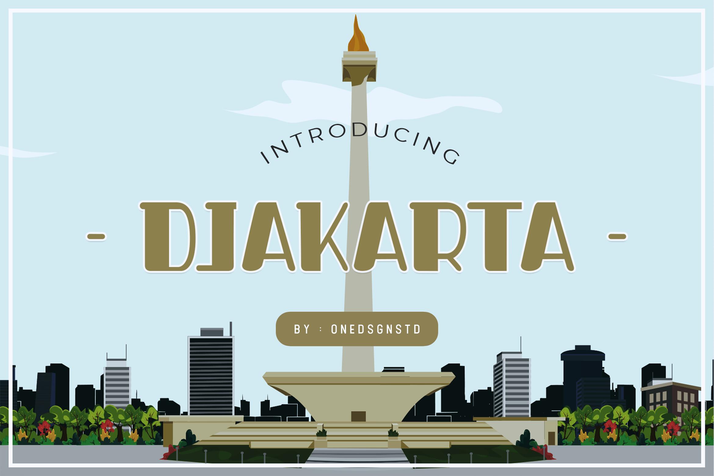 Djakarta Fonts example image 1