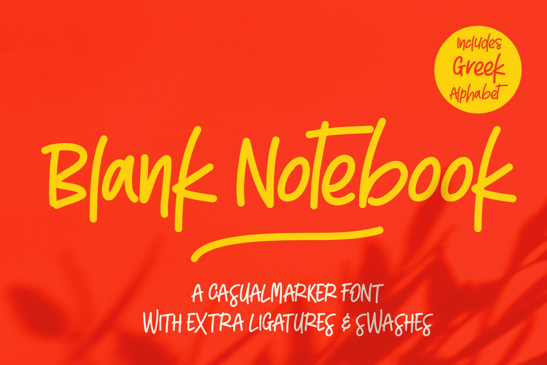 Blank Notebook & Extras example image 1