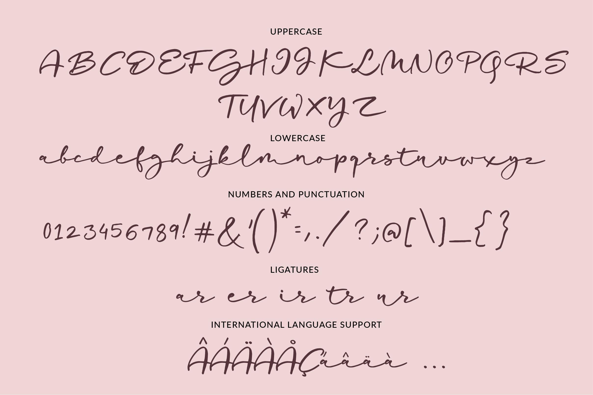 Mostly Sunshine Font Duo example image 2