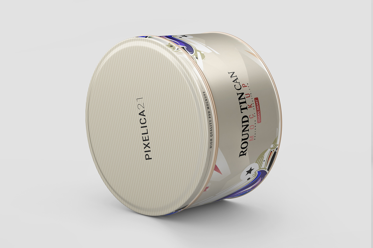 Round Tin Can Mockup example image 6