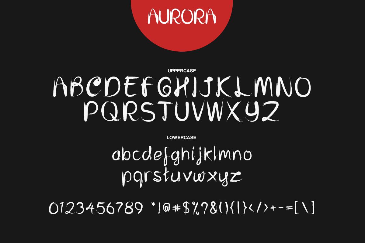 Aurora Font example image 2