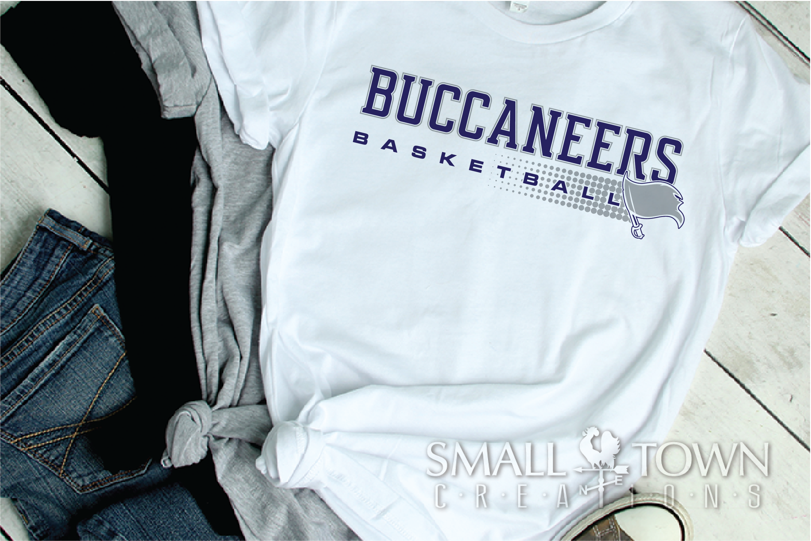 Buccaneer, Basketball, Team, Sport, PRINT, CUT & DESIGN example image 2