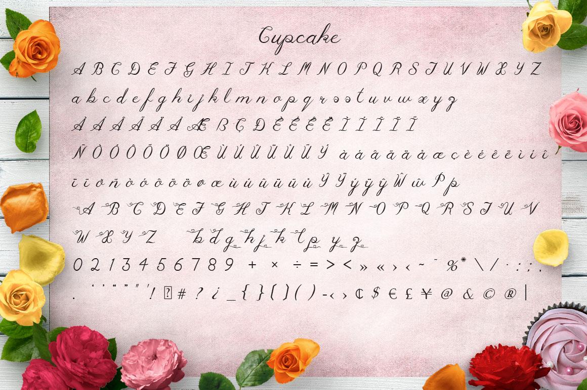 Cupcake Multilingual Script Font example image 2