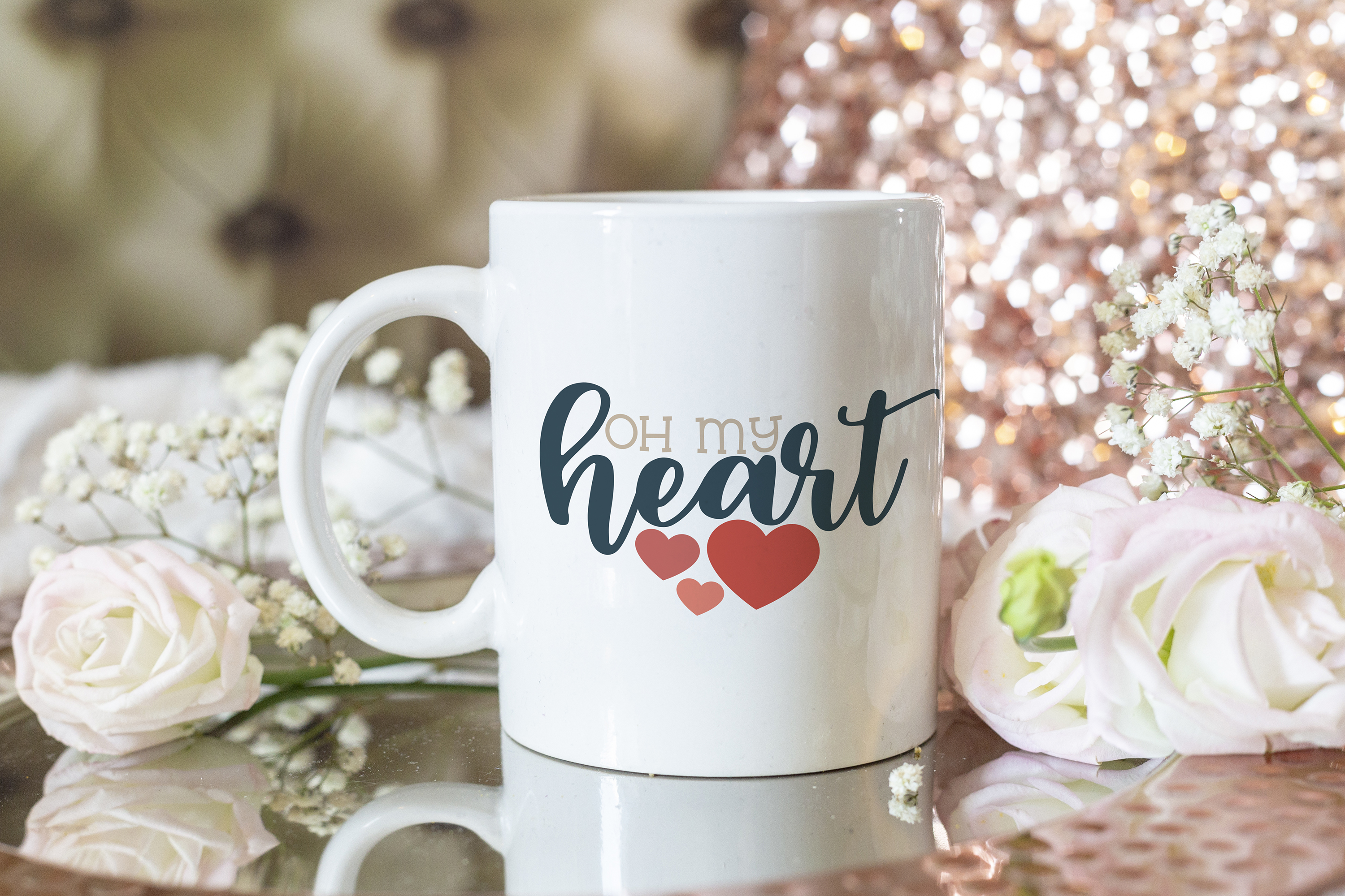 Oh My Heart - A Valentine's Day SVG example image 3