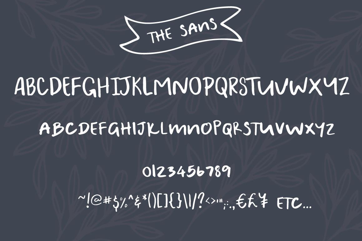 A Bientot | Font Duo with Bonus Logo example image 7