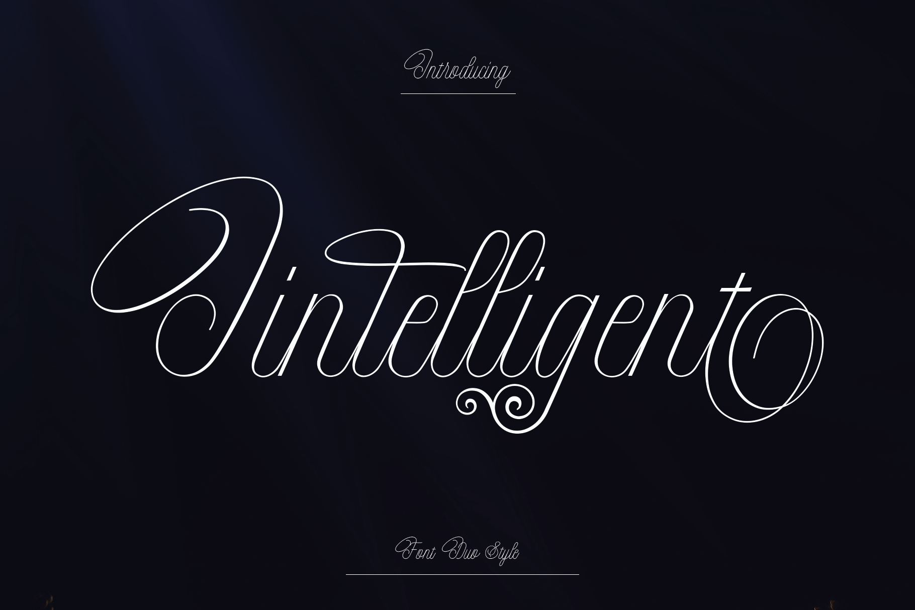 Intelligent | Duo Font Style example image 1