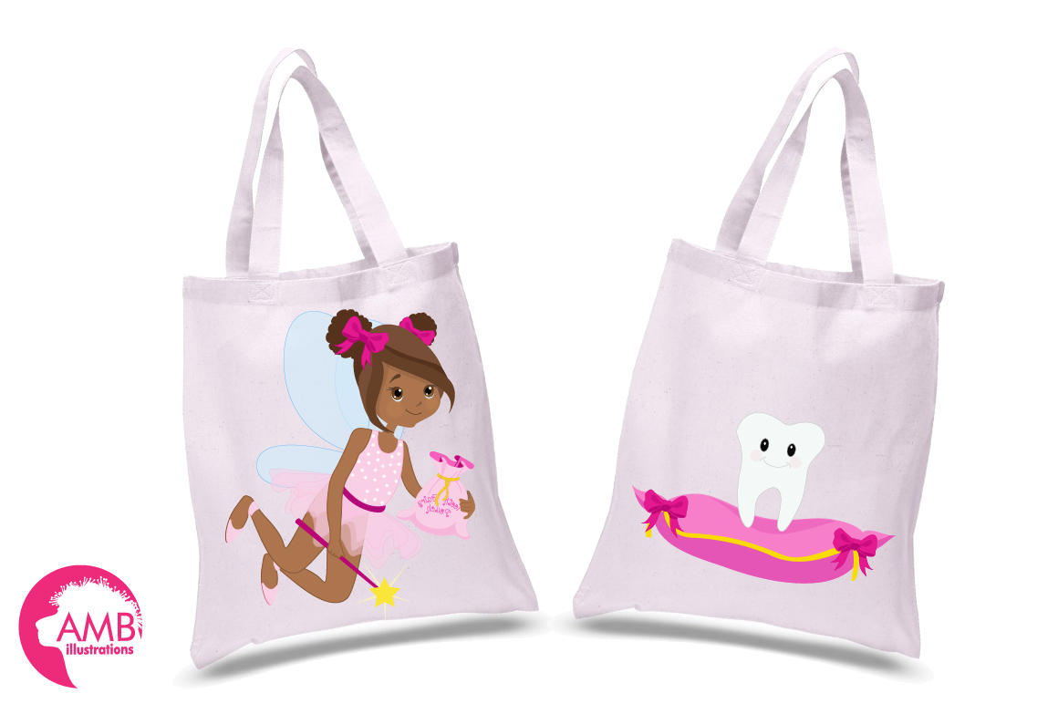 Fairy girls, Toothfairy girls clipart, graphics and illustrations AMB-1134 example image 3