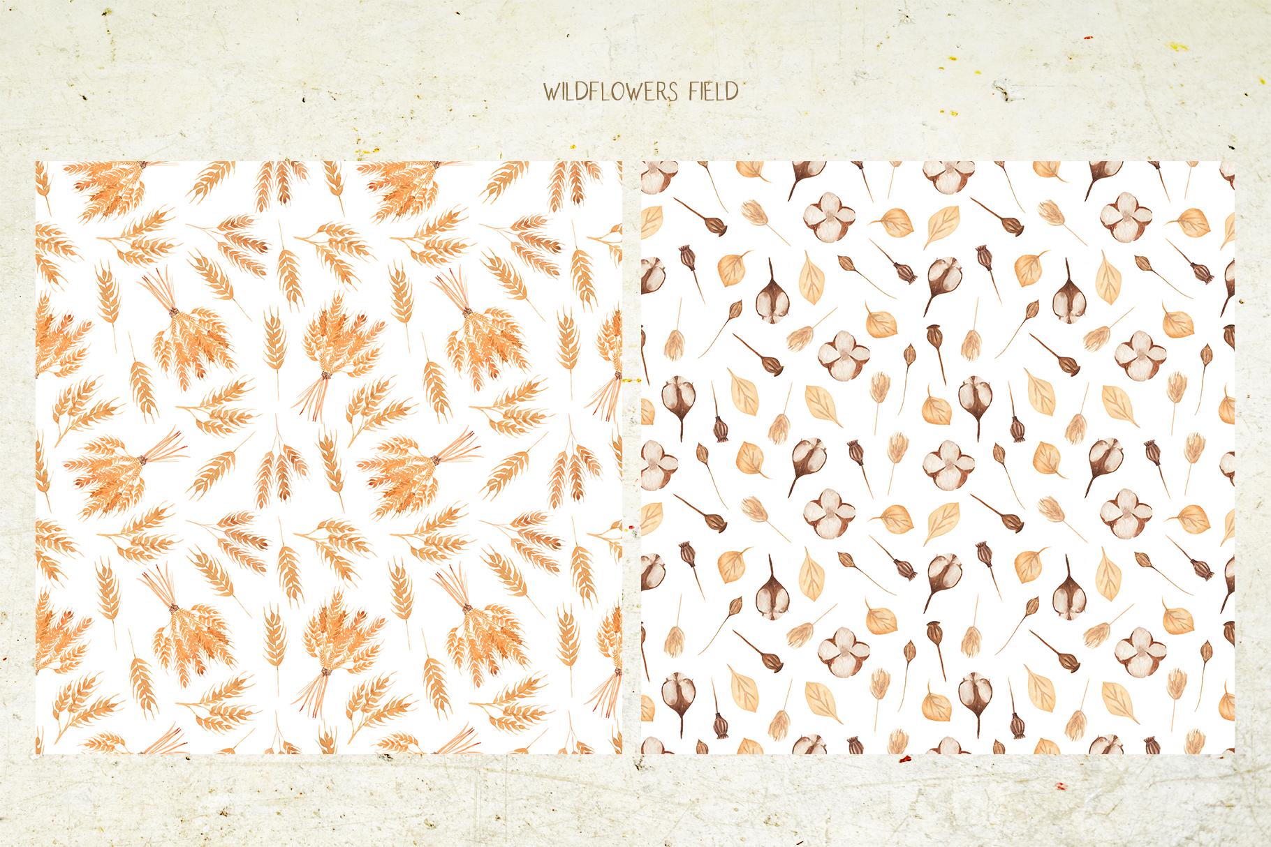 Wildflowers field example image 6