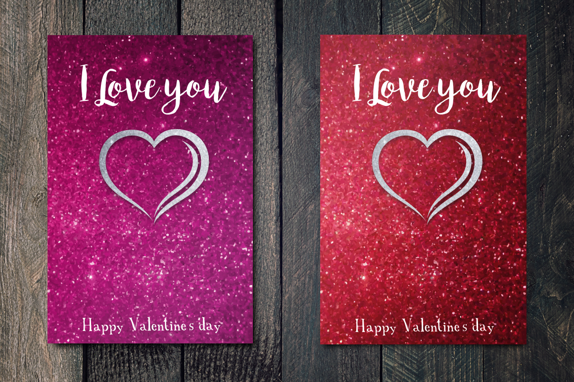 Valentines's Day greetings cards example image 4