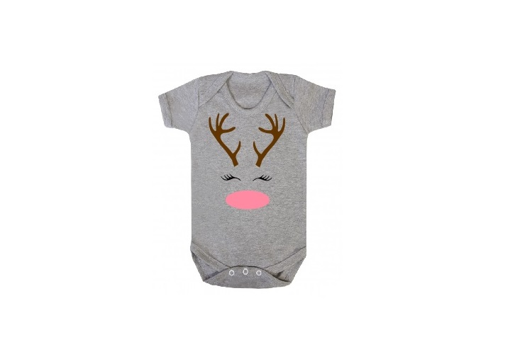 Deer Svg, Deer Face Svg, Reindeer Svg, Reindeer Face Svg example image 2