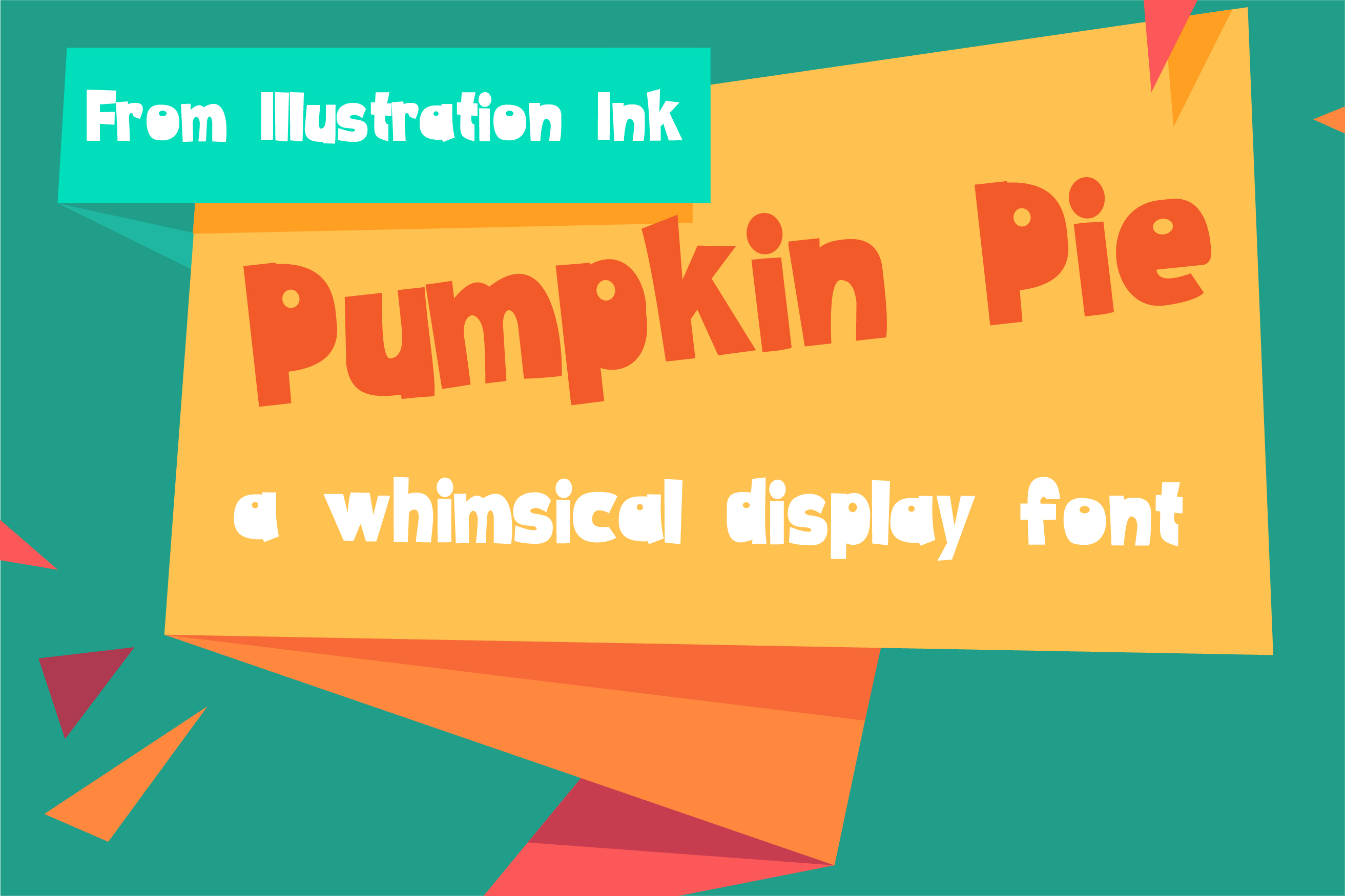 Gobble It Up Font Bundle example image 21