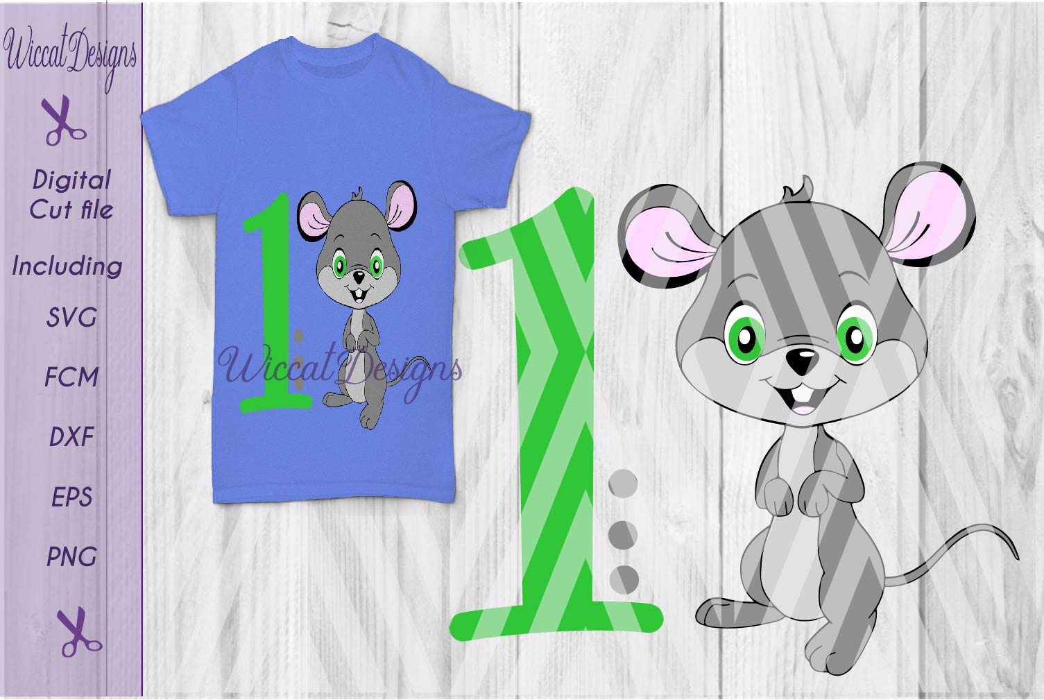 Mouse svg, Birthday svg, boy svg, Boy mouse svg, critter svg  example image 1