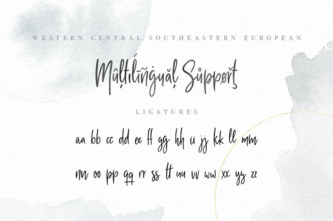 Milano Sky Signature Script Font example image 7