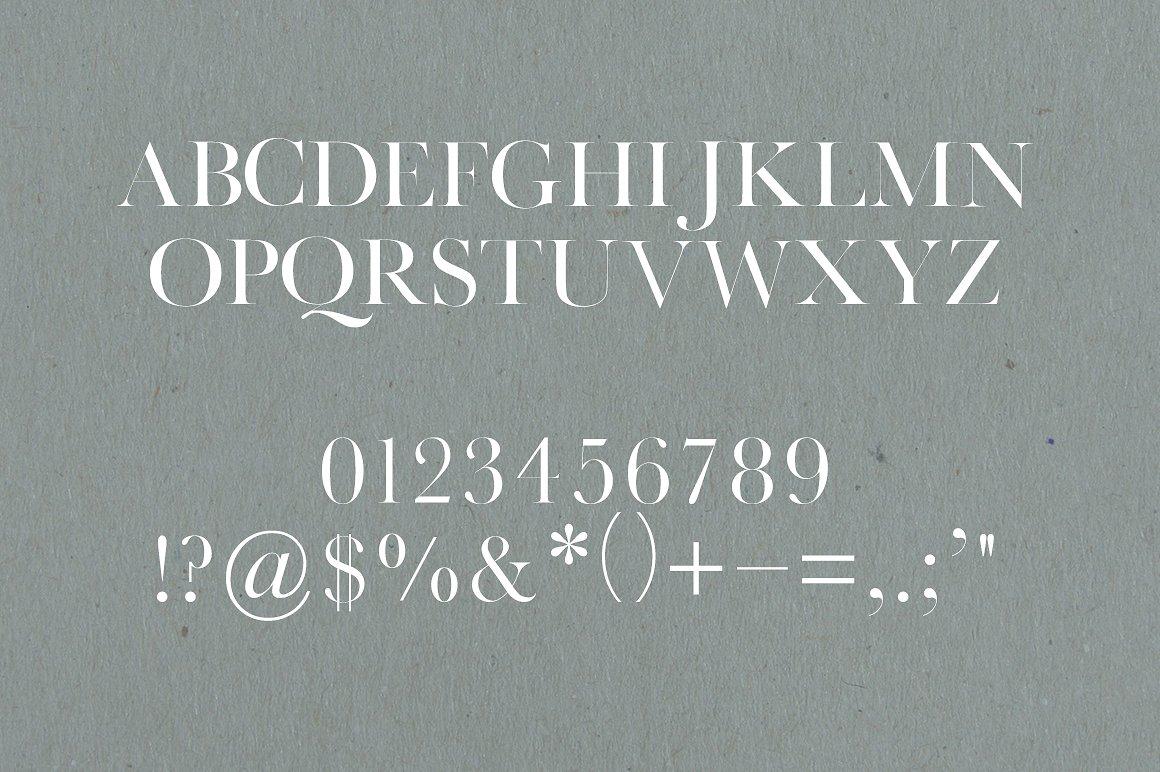 Manhattan | A High Class Serif example image 2