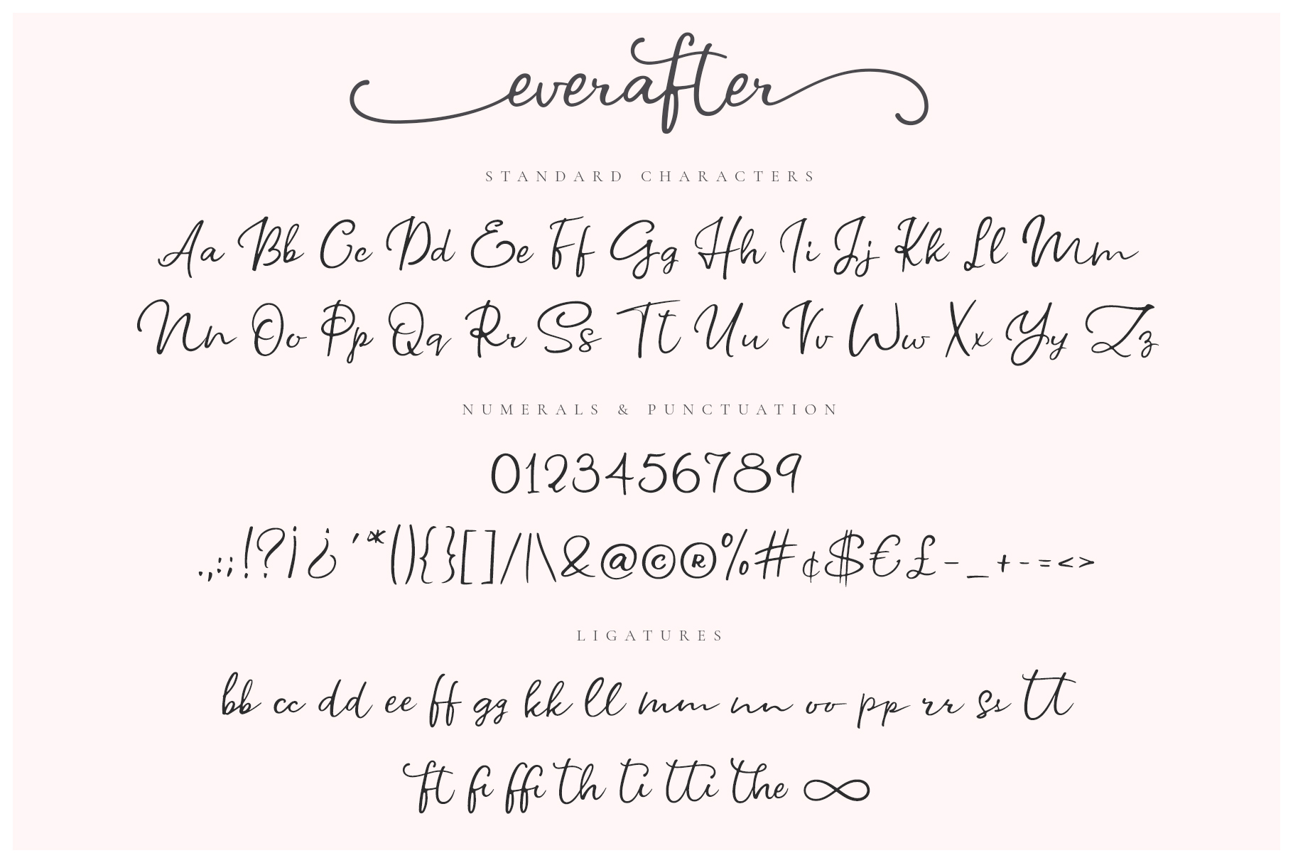 Ever After | A Modern Calligraphy Font example image 7