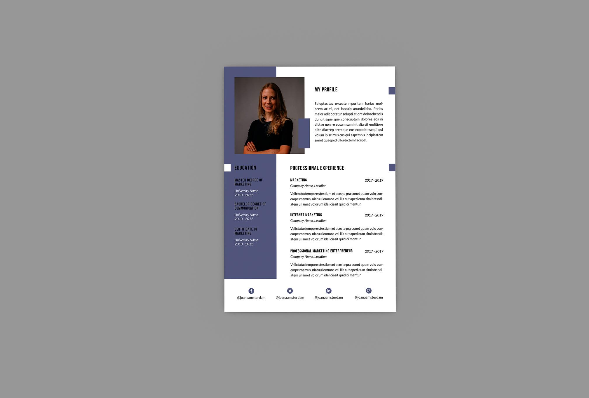 Alternatif Resume Designer example image 4