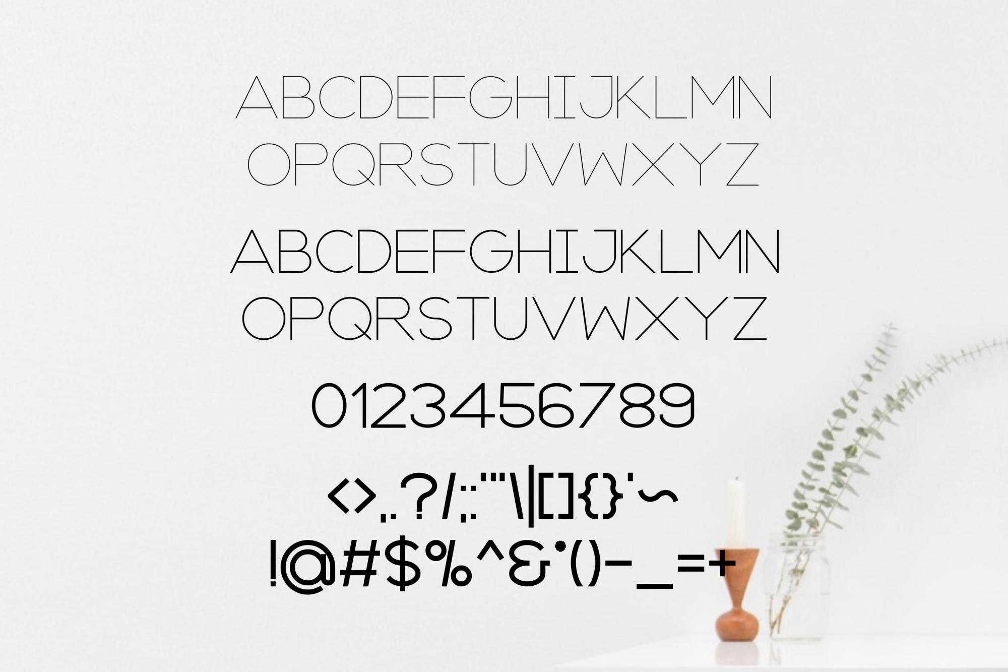 Axon | Minimalist Sans Serif Family example image 4