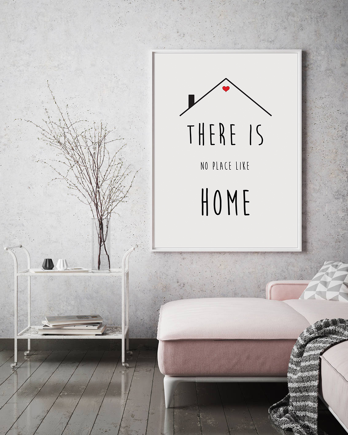 Minimalist Wall Art Quotes, Printable Home Quotes Poster example image 3