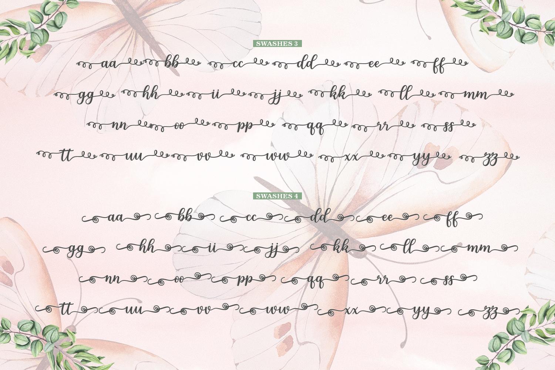 Melda Script | Modern calligraphy example image 15