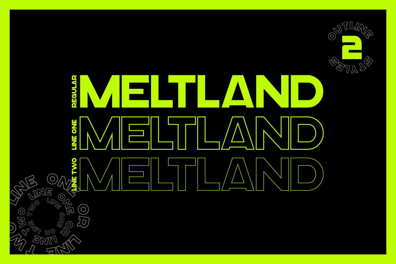 Meltland Font Family example image 5