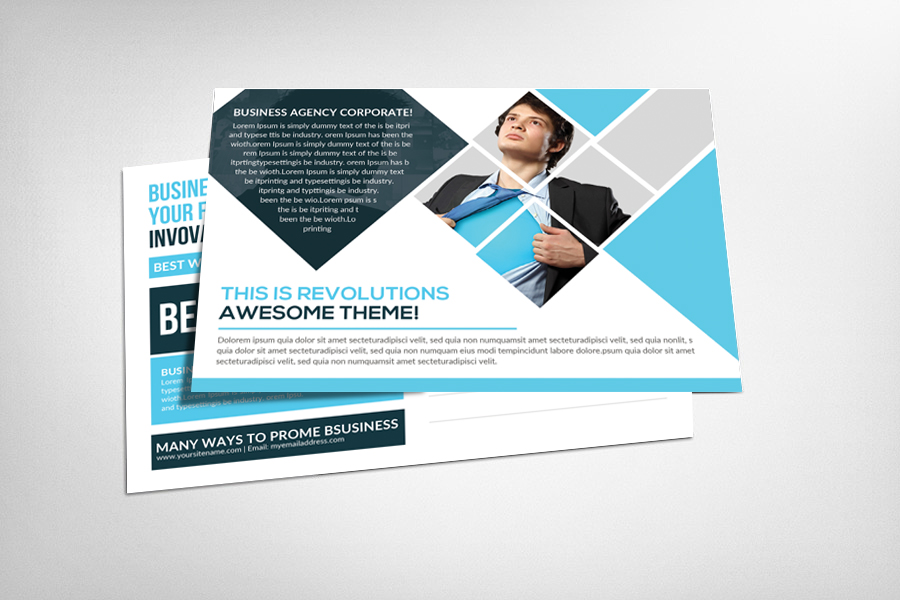 Business Responsive Postcard example image 1